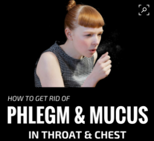 excess mucus in throad