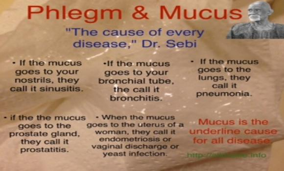 excess mucus in throat